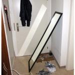 Wandspiegel Fußboden, Panik - hundetier.at